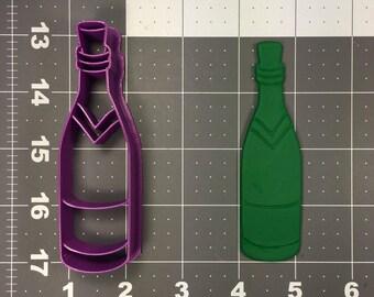 Wine Bottle 101 Cookie Cutter