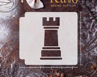 Chess Piece Rook 783-467 Stencil