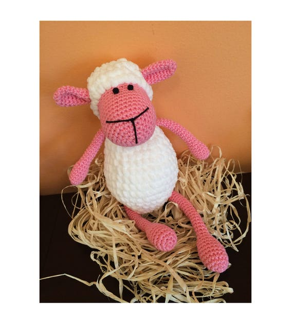 Ravelry: Argo the Amigurumi Sheep pattern by Briana Olsen | 622x570