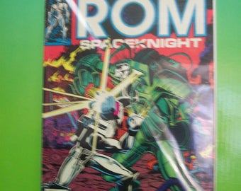 Vintage Comic Book Rom Spaceknight #16 The WatchWraith VF Condition  1981 Marvel Comics Great Gift For Comic Fan