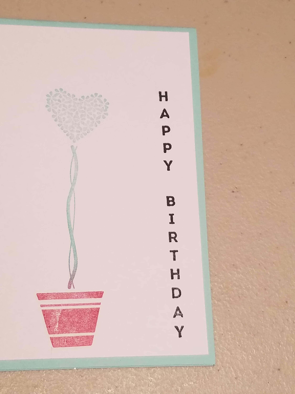 Birthday Card Homemade Birthday Card Girl Birthday Card