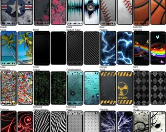 Choose Any 2 Designs - Vinyl Skins / Decals / Stickers for Kindle Fire Phone - Android Smartphone