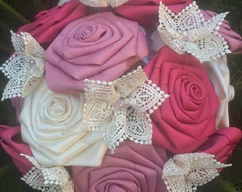 Queen of Hearts - Ribbon Bouquet
