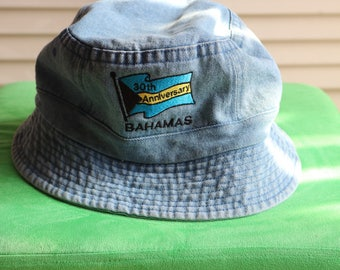Denim Bahamas Bucket Hat
