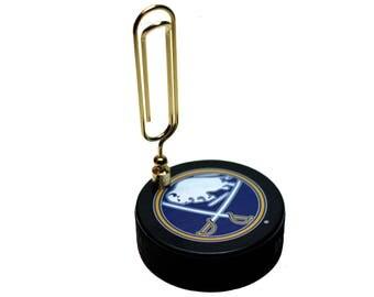 Buffalo Sabres NHL Hockey Puck Note Holder