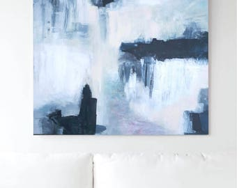 OMBRÈ - Abstract painting on canvas. Original Melville Art