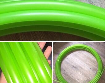 """Parrot Green 3/4 """"polypro hoop"""