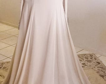 Stephen Yearick Vintage Silk Beaded Gown  New with Tags