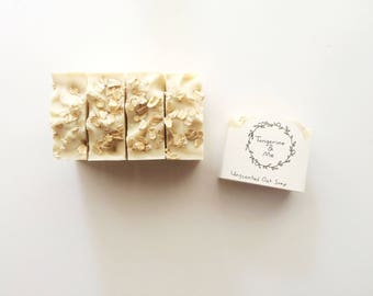 Unscented Oatmeal Soap // Vegan // Cruelty Free // All Natural