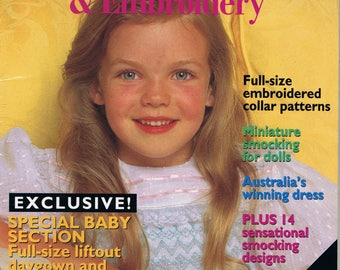 AUSTRALIAN SMOCKING and EMBROIDERY MAGAZINE - ISSUE # 24