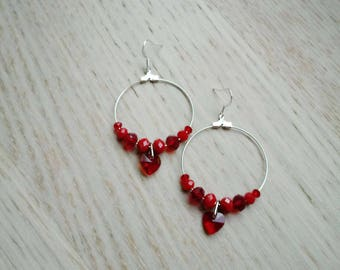 Love/Red Rings/Valentine's Day gift idea