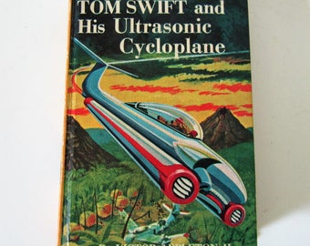 Tom Swift and His Ultrasonic Cycloplane-Victor Appleton II