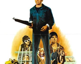 Back to School Sale: BORN LOSERS Movie Poster Exploitation Billy Jack Grindhouse