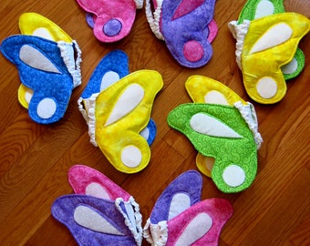 Butterfly Wings Kids, Reversible Butterfly Wing Costume, Imaginary Play Wings, Butterfly Princess Wings, Pretend Play Wings, Ready to Ship!