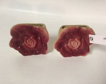 Rose Wall Pockets