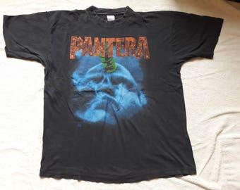 Vintage Rare 1994 Pantera Tour Tshirt Vtg 90s 1990s Thrash Metal Concert Tee Dimebag Megadeth Slayer