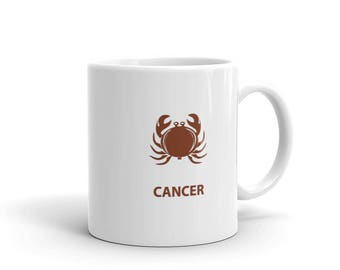 Cancer Zodiac Mug made in the USA