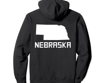 PREMIUM NEBRASKA State Tshirt Omaha Home State Tee