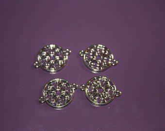 SET OF 4 METAL FOR JEWELRY ACCESSORIES