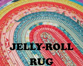 Jelly Roll Rug Pattern RJD 100 From R.J. Designs By Roma Lambson
