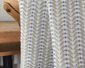 Curtains Made to Measure - Olive - Curtains - Linen Curtains
