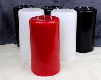 Large Wax Play Candle