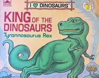 King of the Dinosaurs, Tyrannosaurus Rex,1989 paperback, I love Dinosaurs, by Michael Berenstain