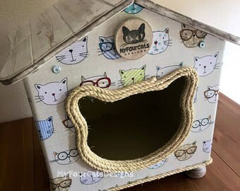 Cat Cottage Cat House Cat Bed Cat Cave Cat Furniture
