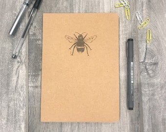 Bumble Bee A5 Lined Notebook