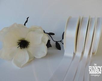 Personalised Ribbon White