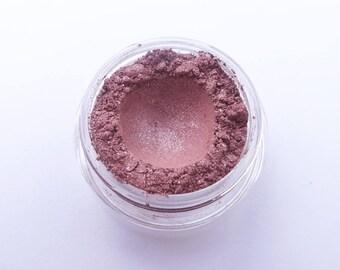 Romance - sparkle dusty rose vegan mineral eye shadow