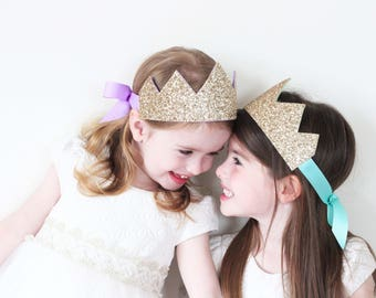 Ballerina Princess Birthday Crown | Birthday Crown | Birthday Outfit Girl | Birthday Crown Girl | Gold Birthday Crown | Girl Smash Cake