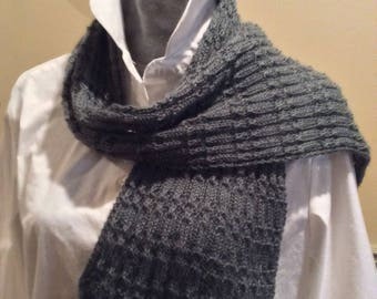 hand knitted lace scarf