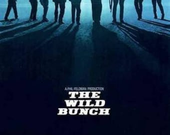 The Wild Bunch Movie  Rare Vintage Poster