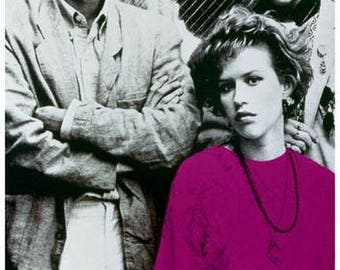Pretty In Pink Movie Rare Vintage Poster