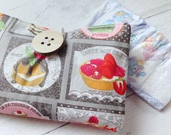 Handbag Portapannolino Cupcake & Macarons