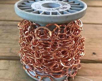 Copper Plate Chain