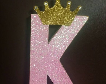 Princess letter prop, Princess  birthday, Princess letter initial