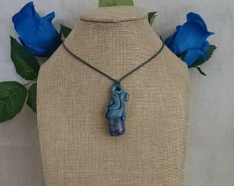 Watery Fantasy - Lapis Lazuli Pendent