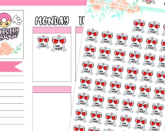Icon Date Night Stickers (15)