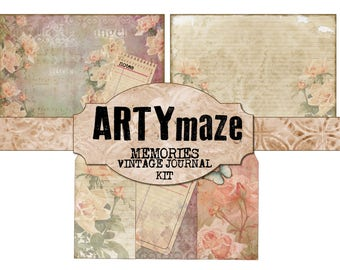 "MEMORIES""  digital Journal KIT  *instant download*"