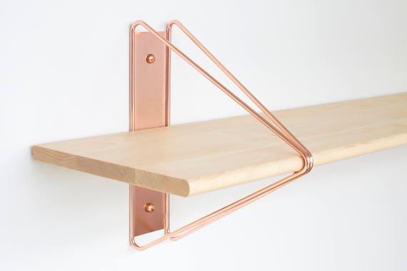 support tag re moderne cuivre tag res support tag res. Black Bedroom Furniture Sets. Home Design Ideas
