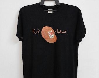 Vintage 90s Kaul Helmut Tshirt Size Large