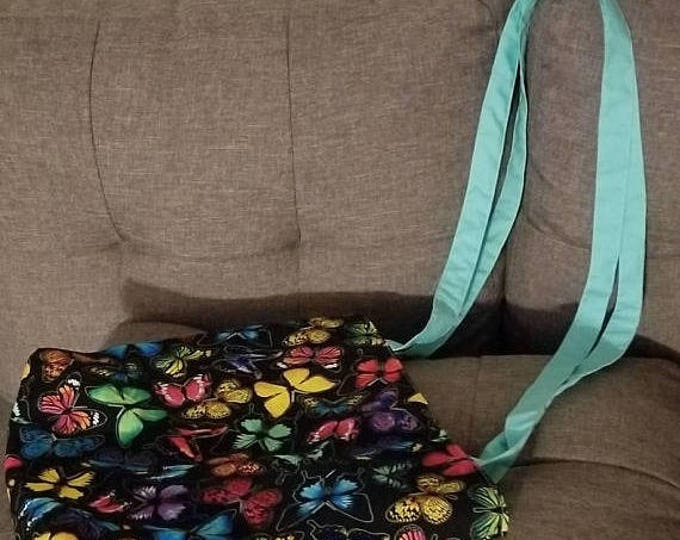 Beautiful Butterfly tote shoulder bag