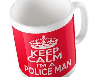 Keep Calm I'm a Policeman mug