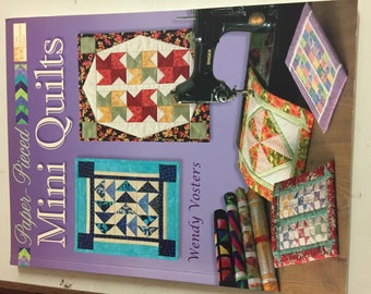 Book-Paper Pieced Mini Quilts