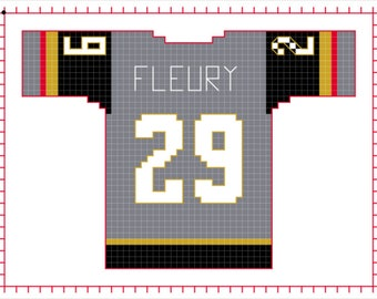 Marc Andre Fleury Vegas Golden Knight Home Jersey
