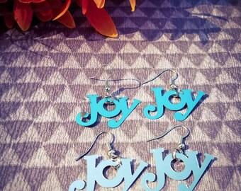 Joy dangle earrings