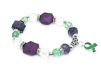Mental Health Awareness - Mental Health - Mental Health Gifts - Mental Health Charm - Mental Illness Jewelry - Mental Health Bracelet