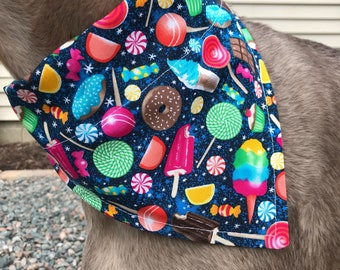 Med/Large Sugar Rush Dog Bandana